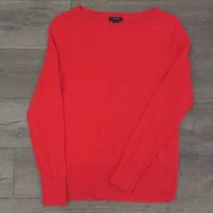 Halogen Women's Festive Red CrewNeck Sweater (S)